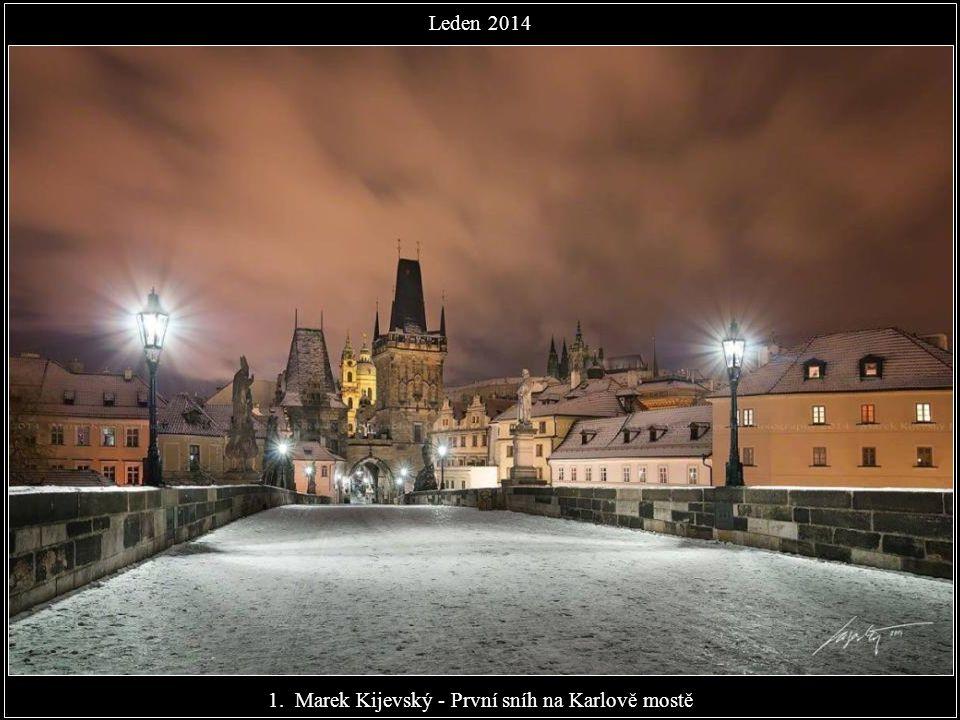 1. Marek Kijevský - První sníh na Karlově mostě