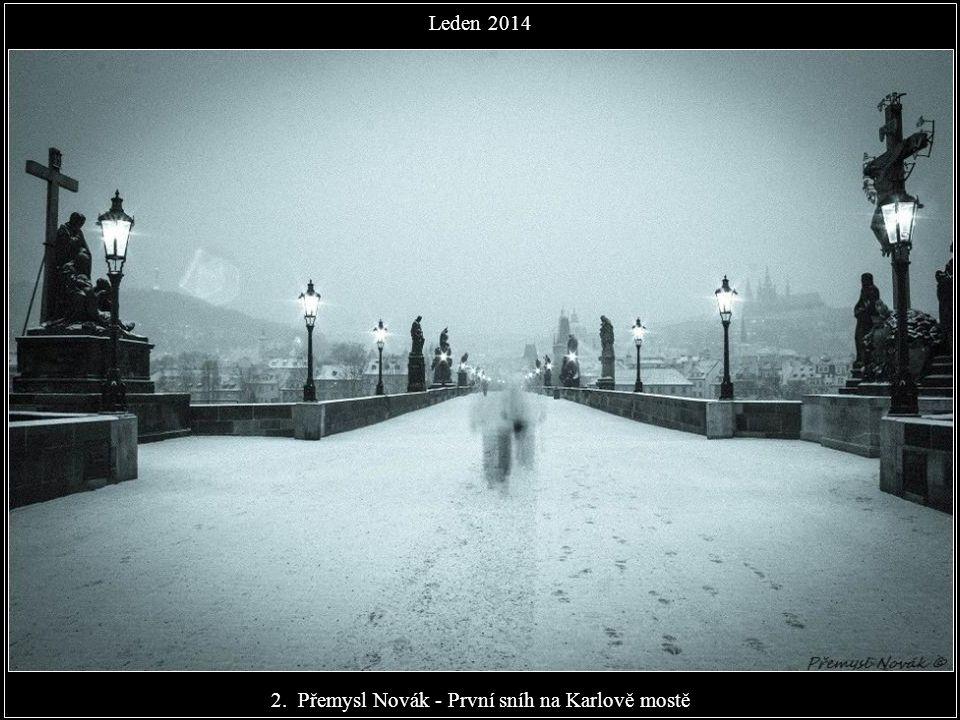 2. Přemysl Novák - První sníh na Karlově mostě