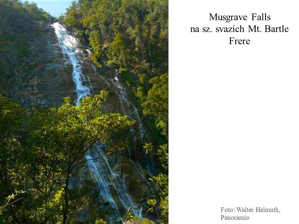 Musgrave Falls na sz. svazích Mt. Bartle Frere