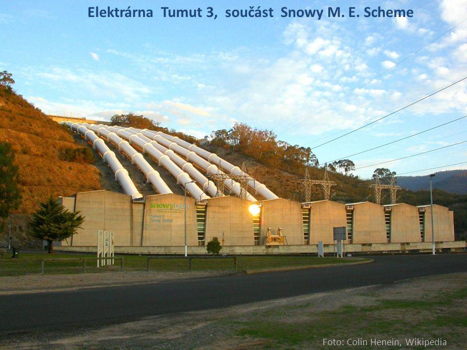 Elektrárna Tumut 3, součást Snowy M. E. Scheme