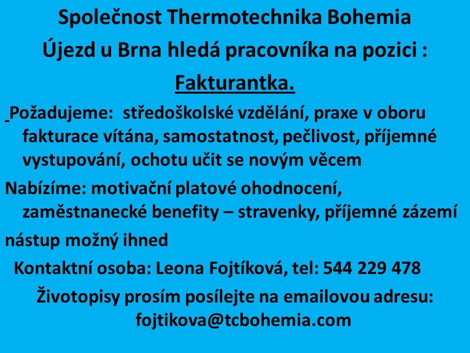 Společnost Thermotechnika Bohemia