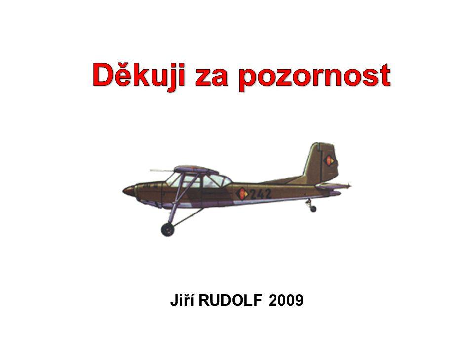 Děkuji za pozornost Jiří RUDOLF 2009