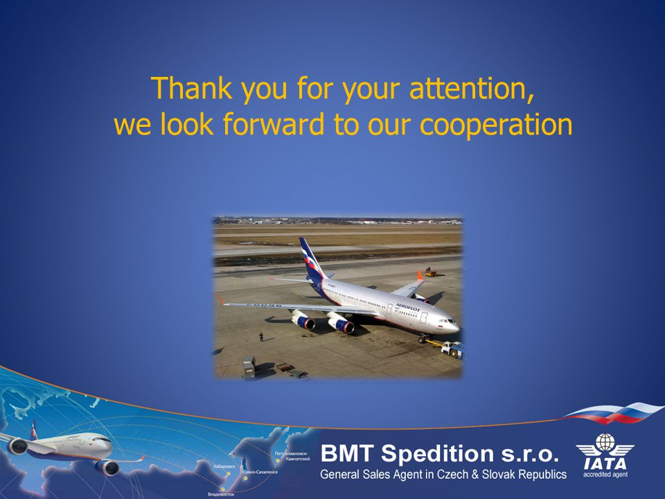 Thank you for your attention, we look forward to our cooperation