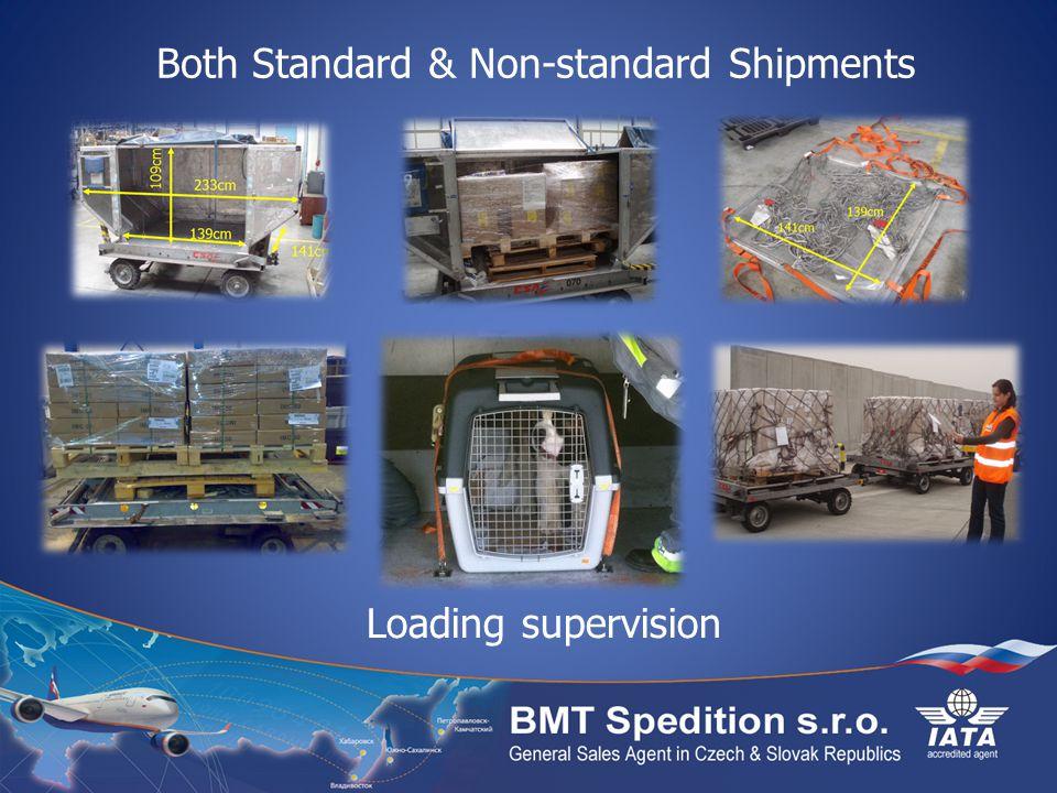 Both Standard & Non-standard Shipments