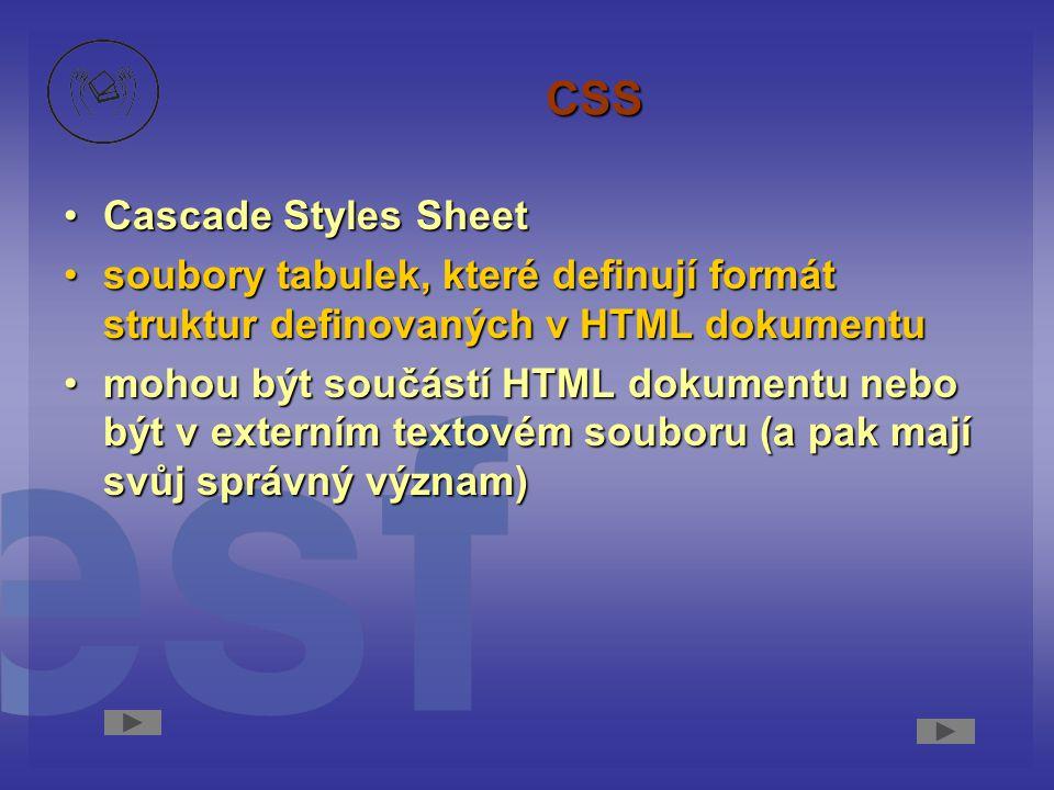 CSS Cascade Styles Sheet