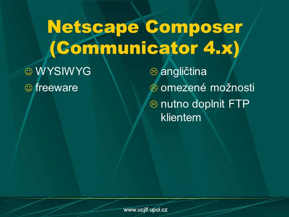 Netscape Composer (Communicator 4.x)