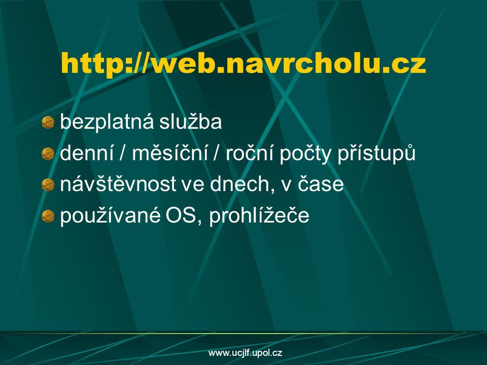 http://web.navrcholu.cz bezplatná služba