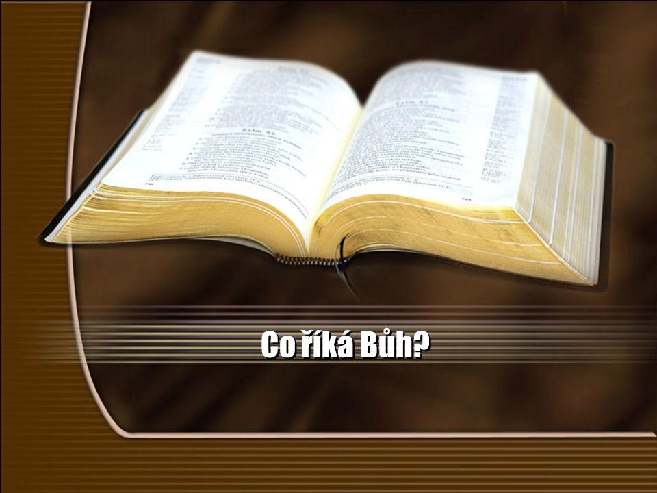 Co říká Bůh