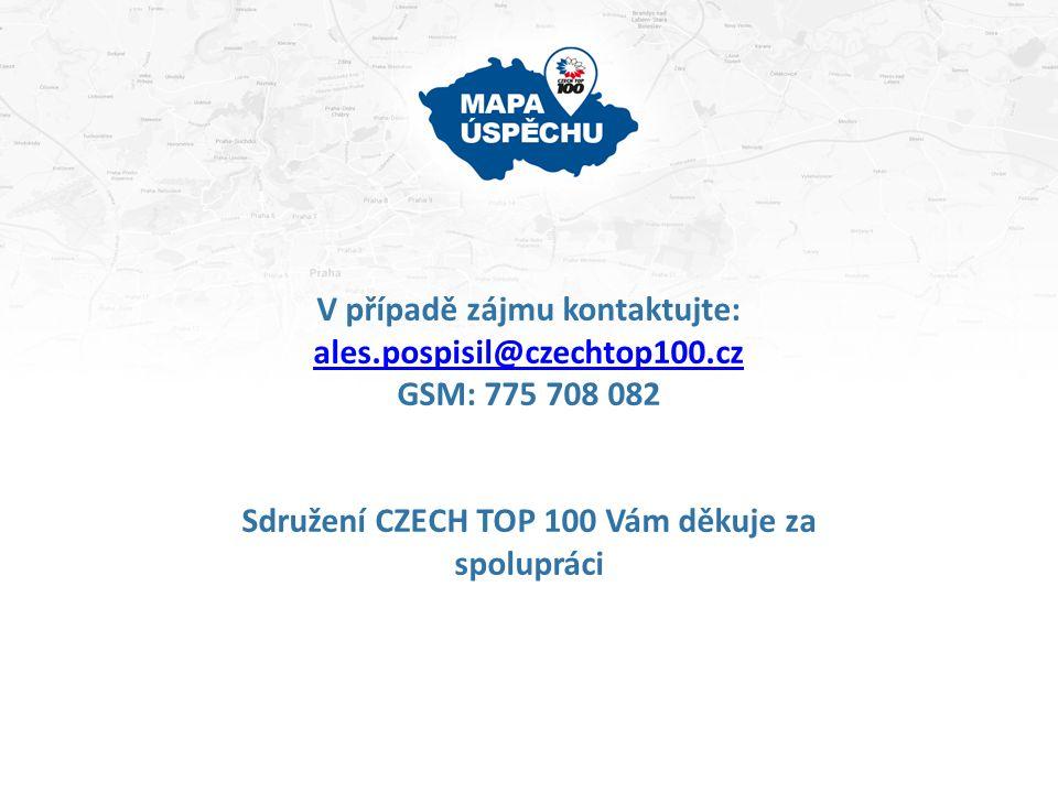 V případě zájmu kontaktujte: ales.pospisil@czechtop100.cz