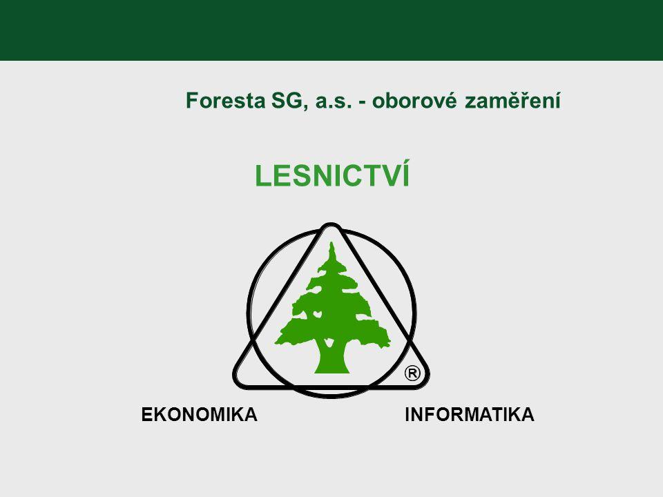 Foresta SG, a.s. - oborové zaměření
