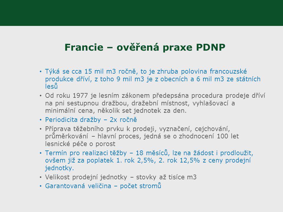Francie – ověřená praxe PDNP