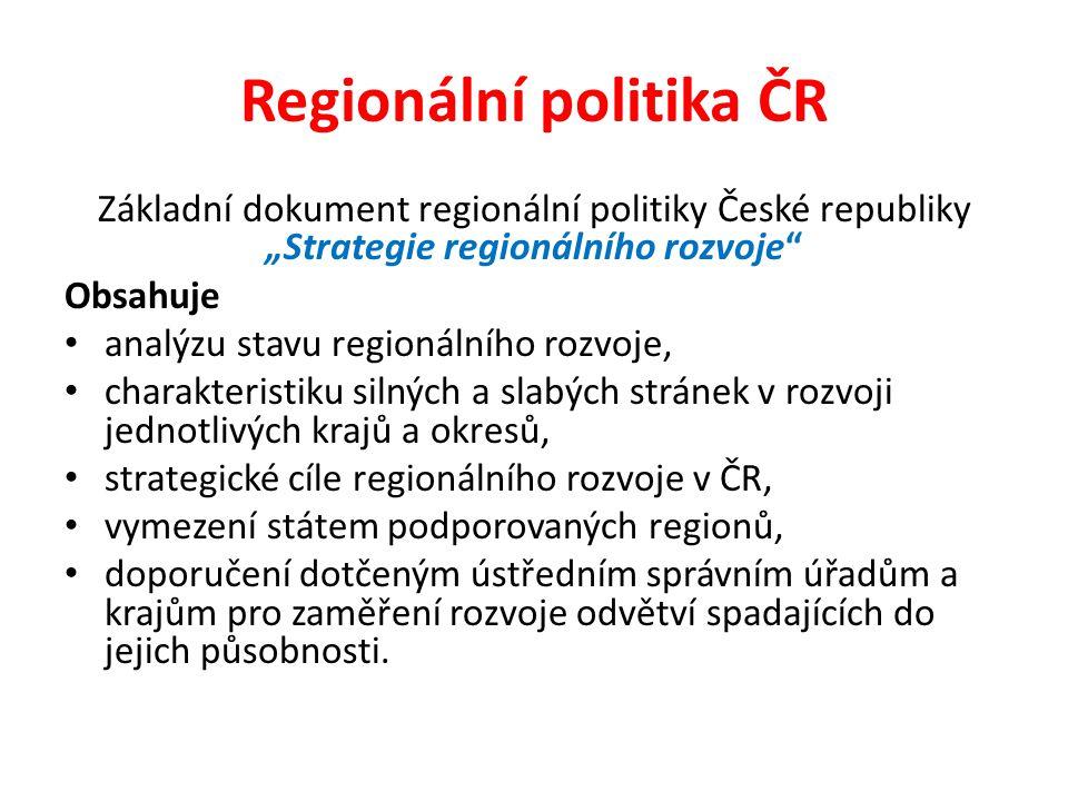 Regionální politika ČR