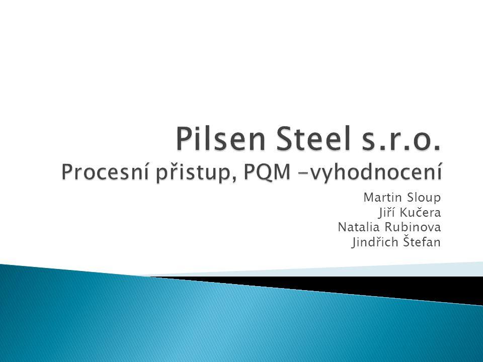 Pilsen Steel s.r.o. Procesní přistup, PQM -vyhodnocení