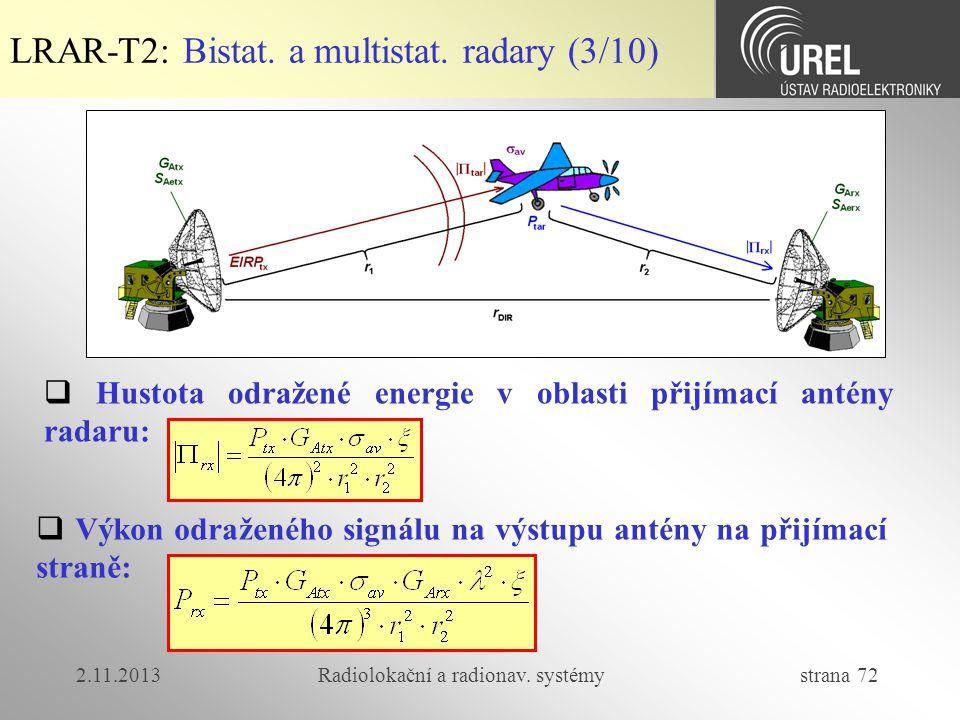 Radiolokační a radionav. systémy