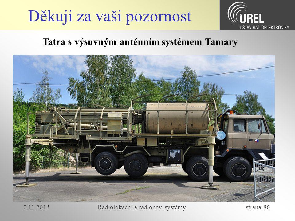 Tatra s výsuvným anténním systémem Tamary