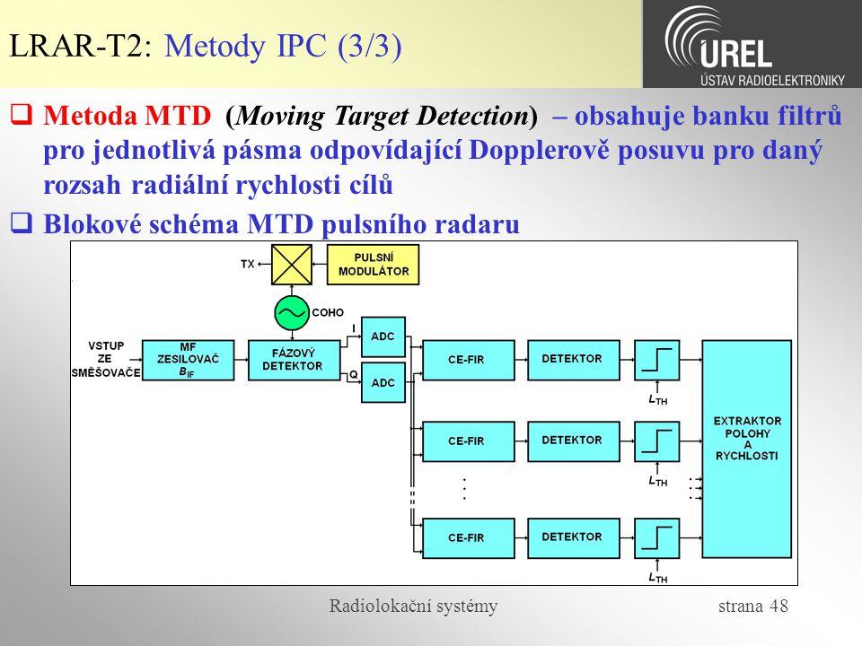 LRAR-T2: Metody IPC (3/3)
