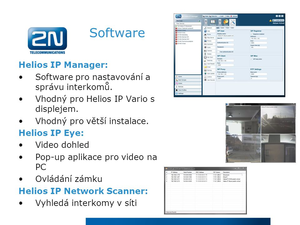 Software Helios IP Manager: