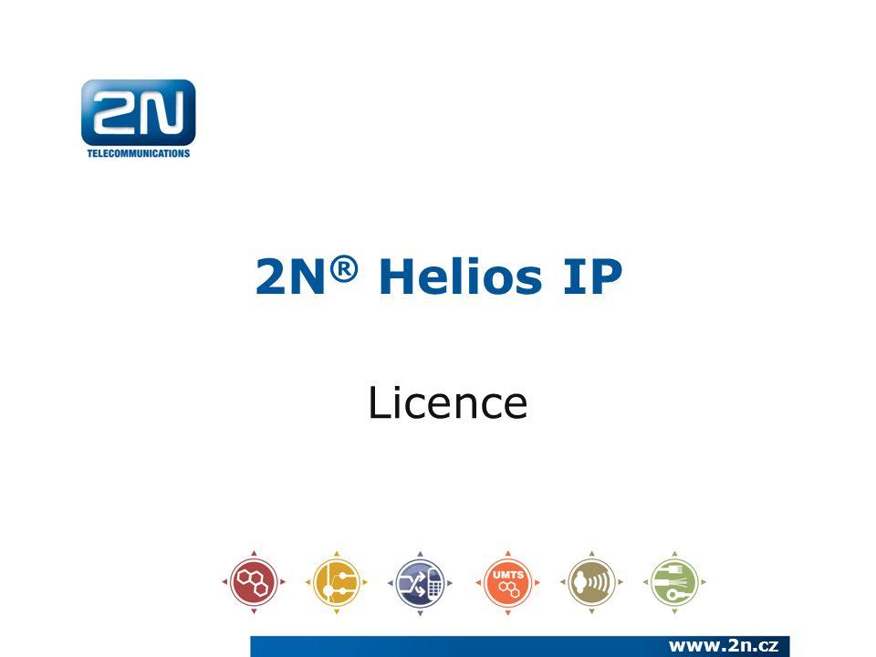 2N® Helios IP Licence