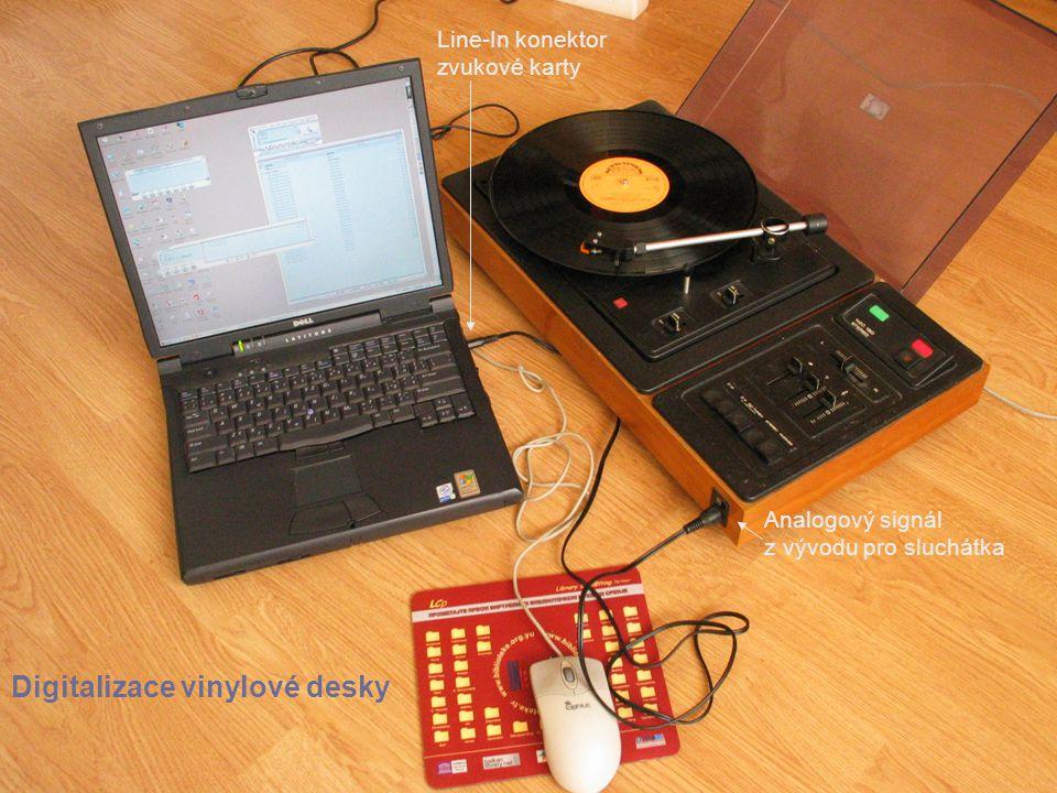 Digitalizace vinylové desky