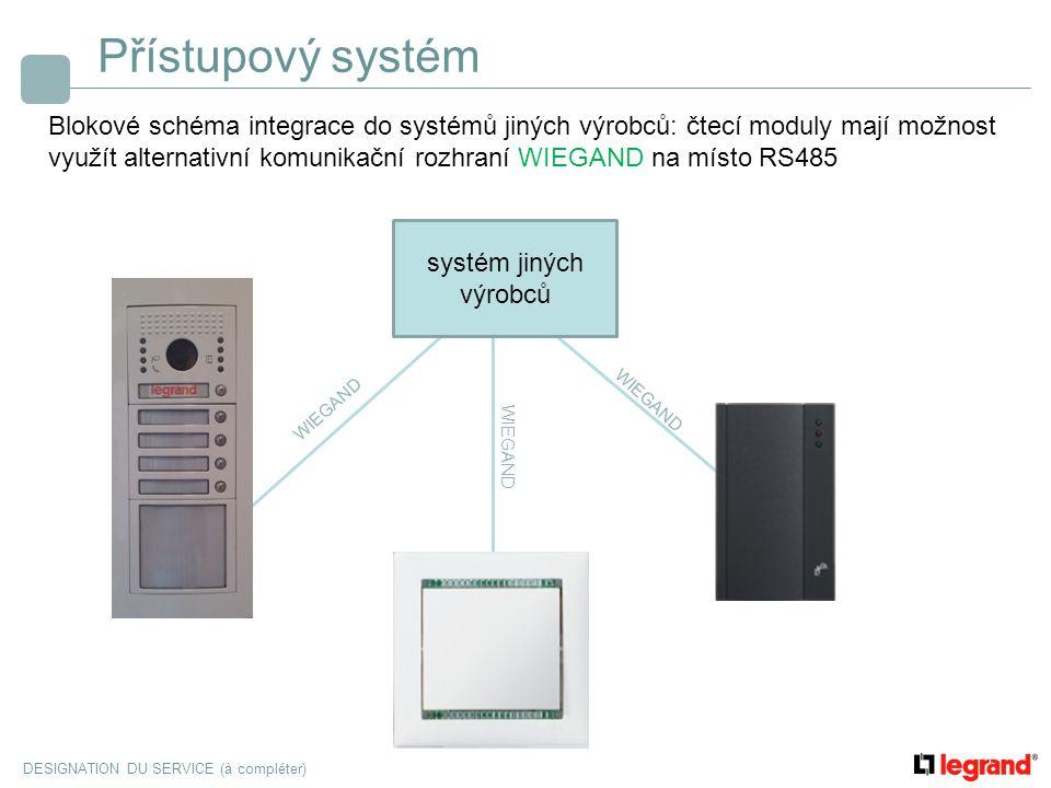 Přístupový systém