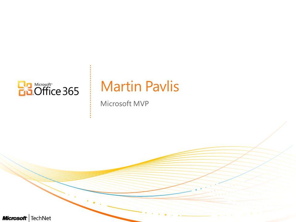 Martin Pavlis Microsoft MVP