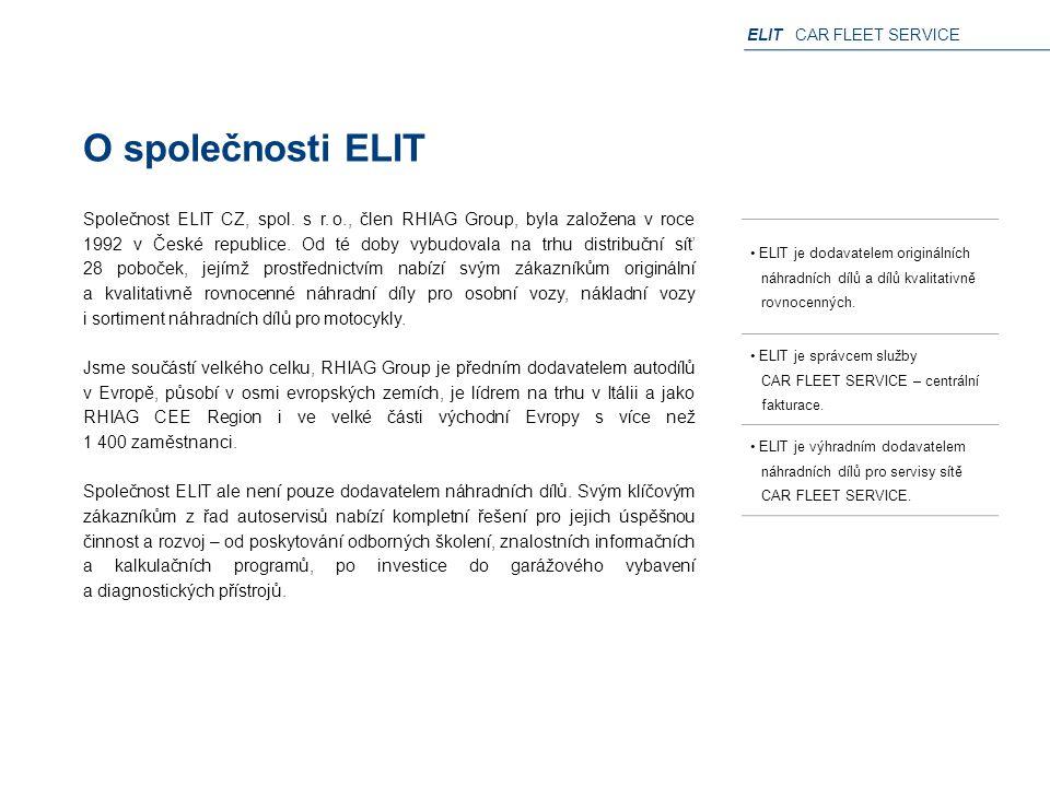 O společnosti ELIT