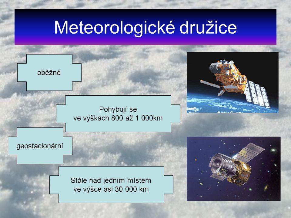 Meteorologické družice