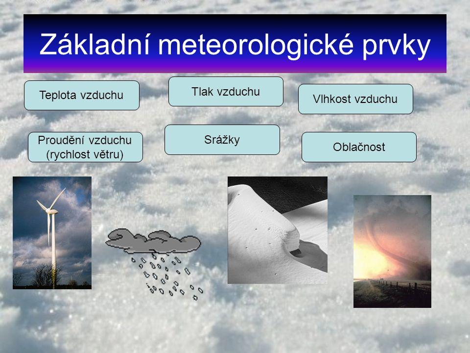 Základní meteorologické prvky