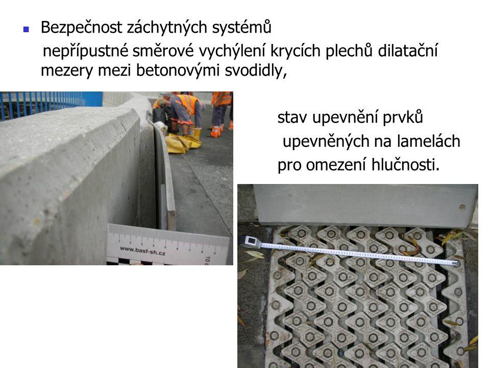 Bezpečnost záchytných systémů