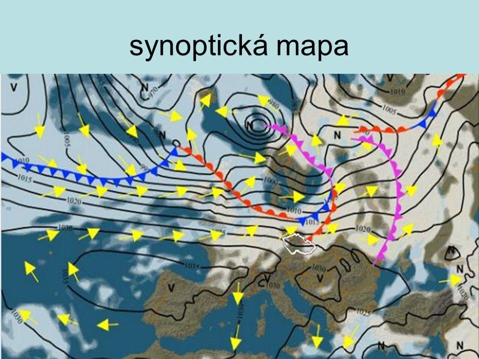 synoptická mapa