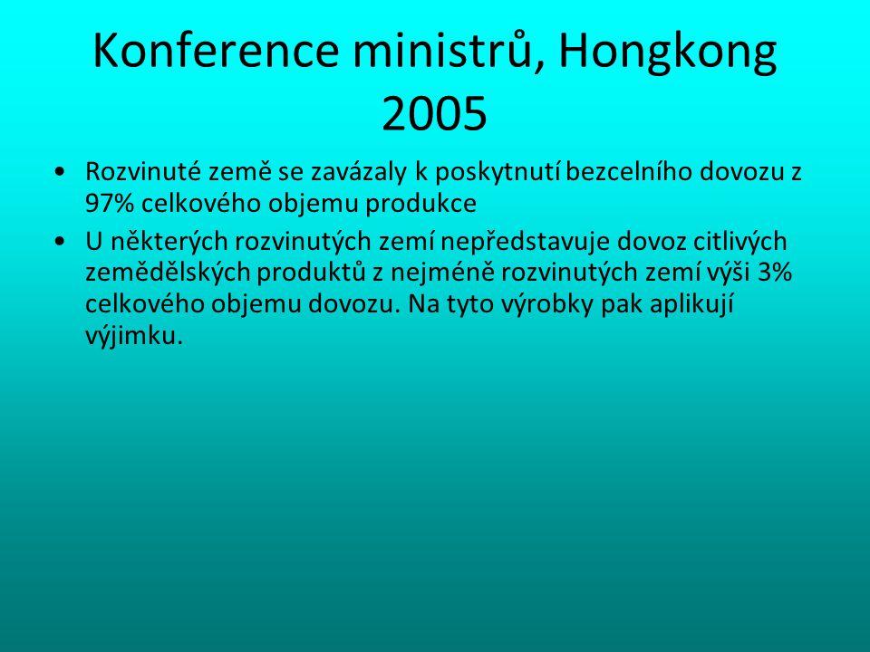 Konference ministrů, Hongkong 2005