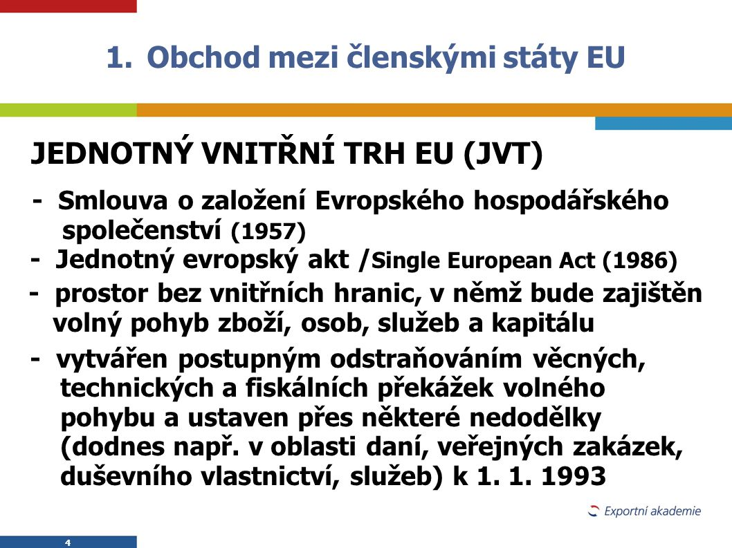Obchod mezi členskými státy EU