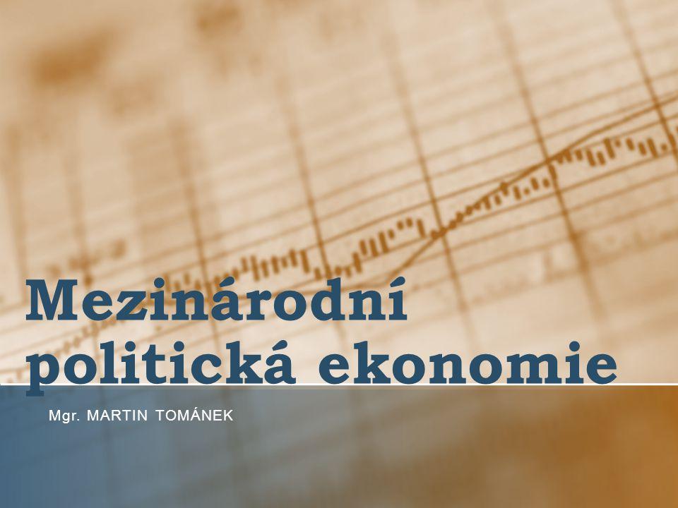 Mezinárodní politická ekonomie