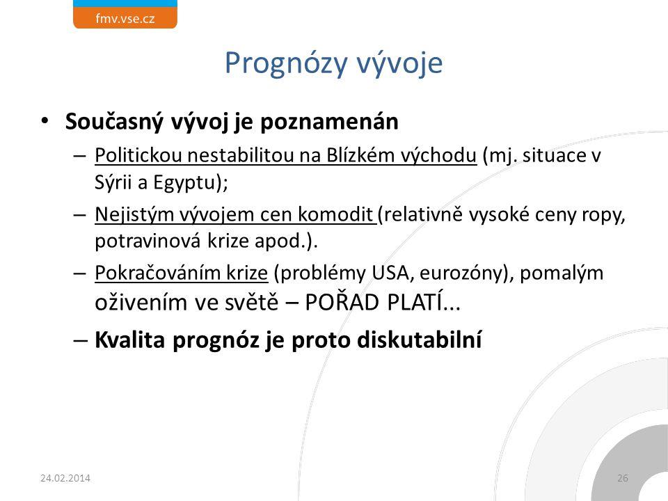 Efekt PH ve světě – země 24.02.2014