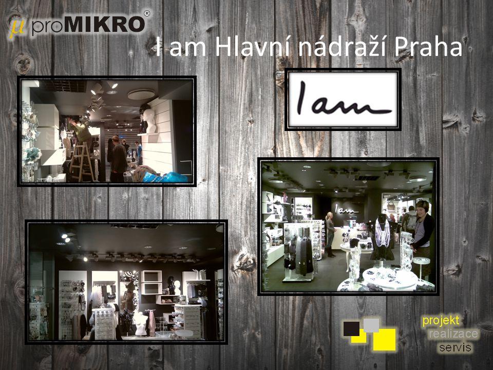 I am Hlavní nádraží Praha