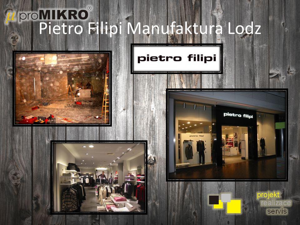 Pietro Filipi Manufaktura Lodz