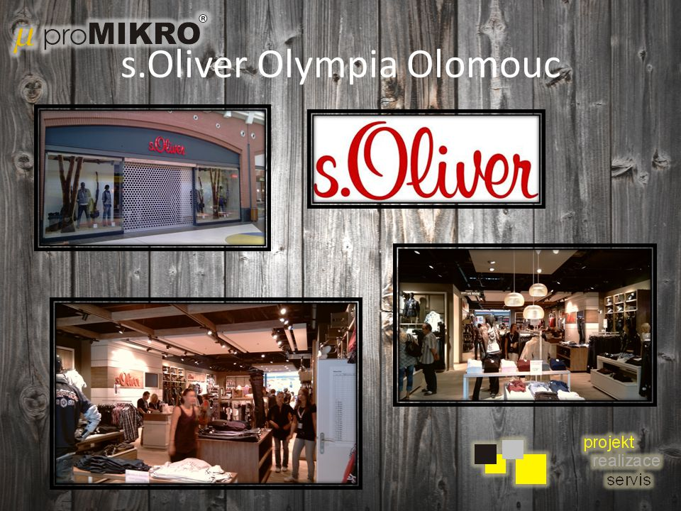 s.Oliver Olympia Olomouc