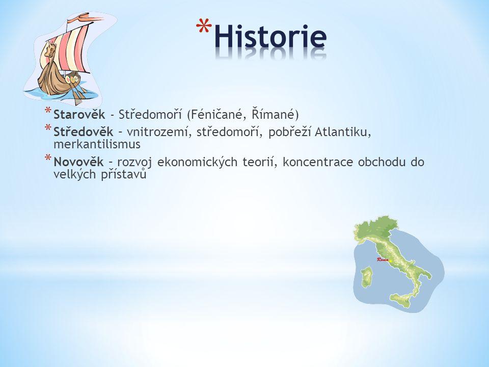 Historie Starověk - Středomoří (Féničané, Římané)