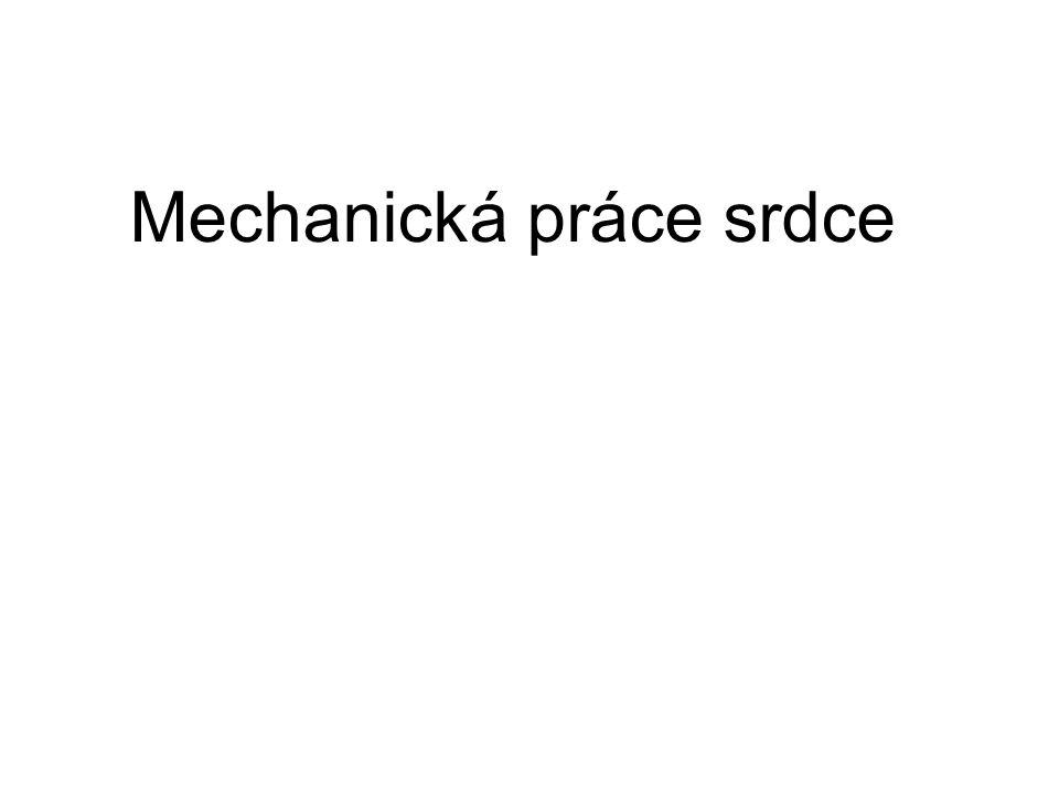 Mechanická práce srdce