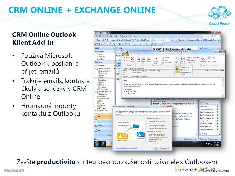 CRM Online + Exchange Online