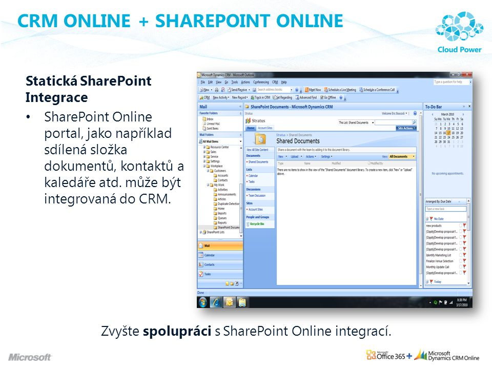 CRM Online + SharePoint Online
