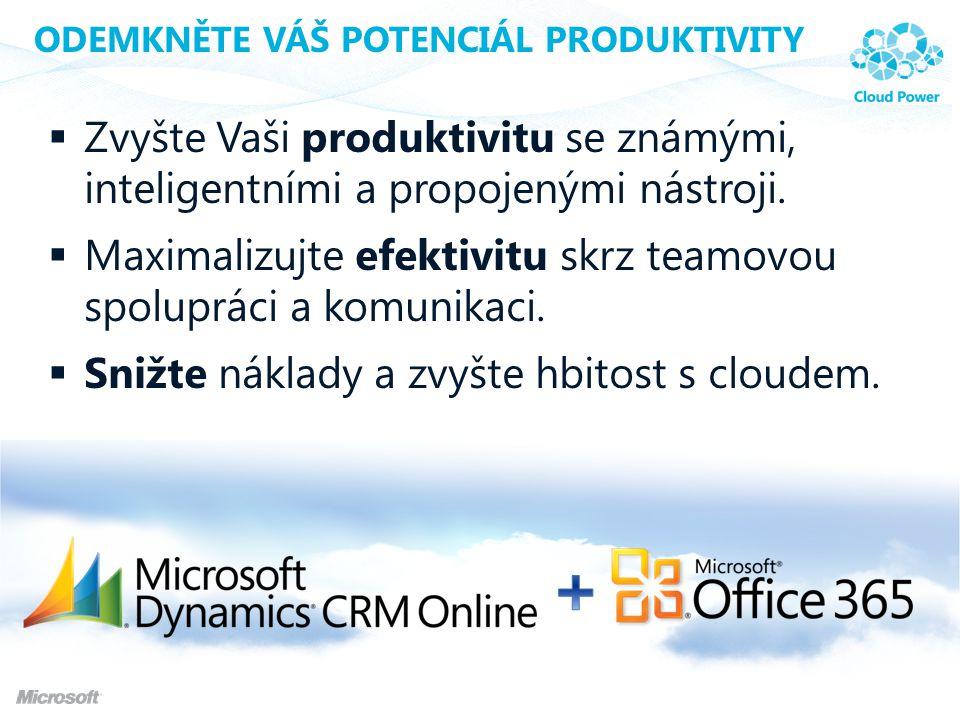 Odemkněte Váš potenciál produktivity
