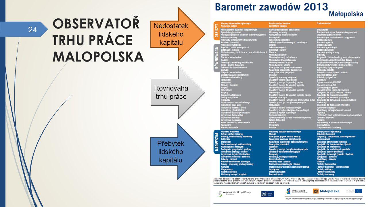 observatoř trhu práce malopolska