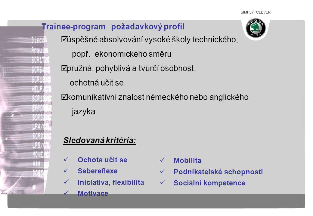 Trainee-program požadavkový profil