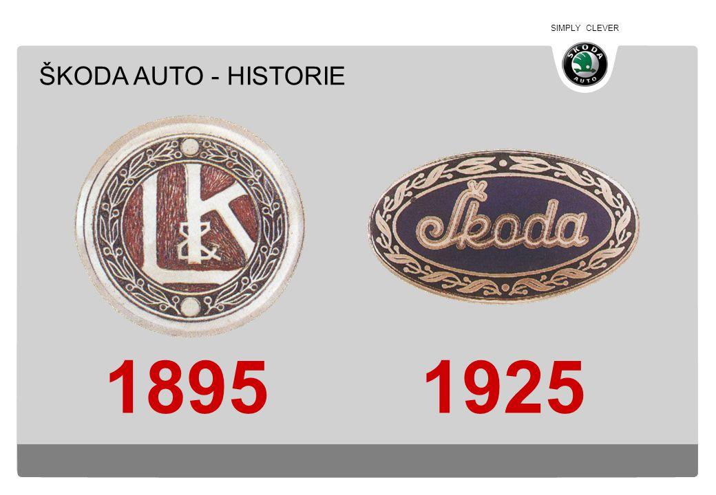 ŠKODA AUTO - HISTORIE 1895 1925