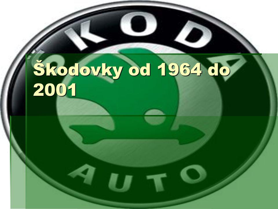 Škodovky od 1964 do 2001