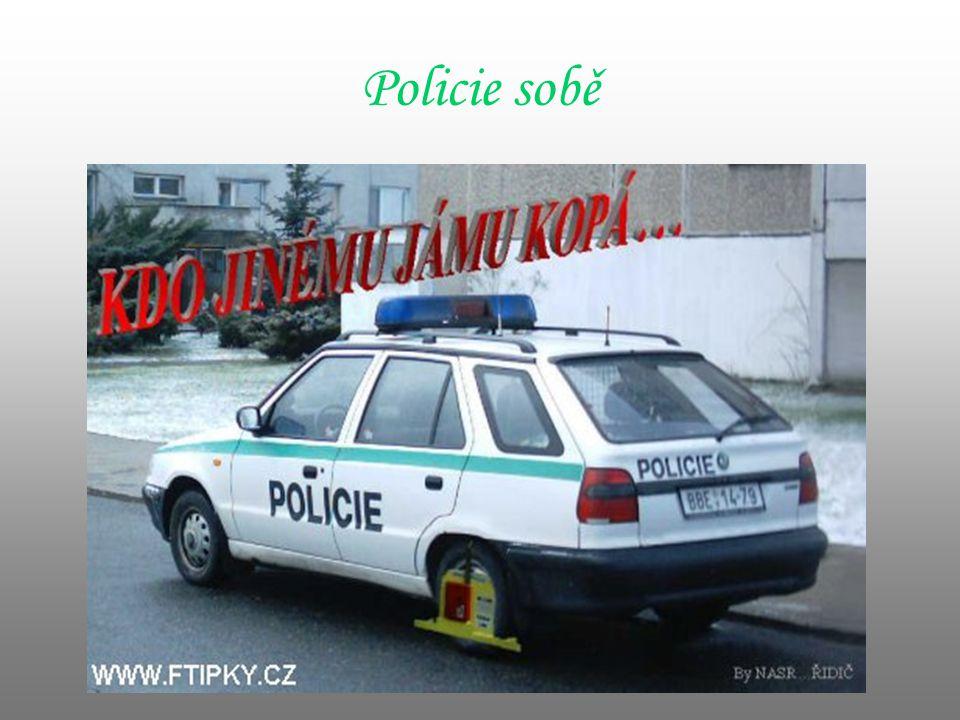 Policie sobě