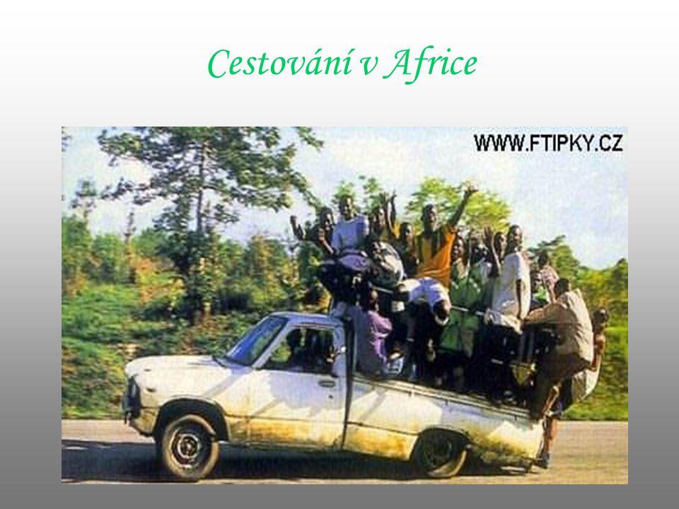 Cestování v Africe