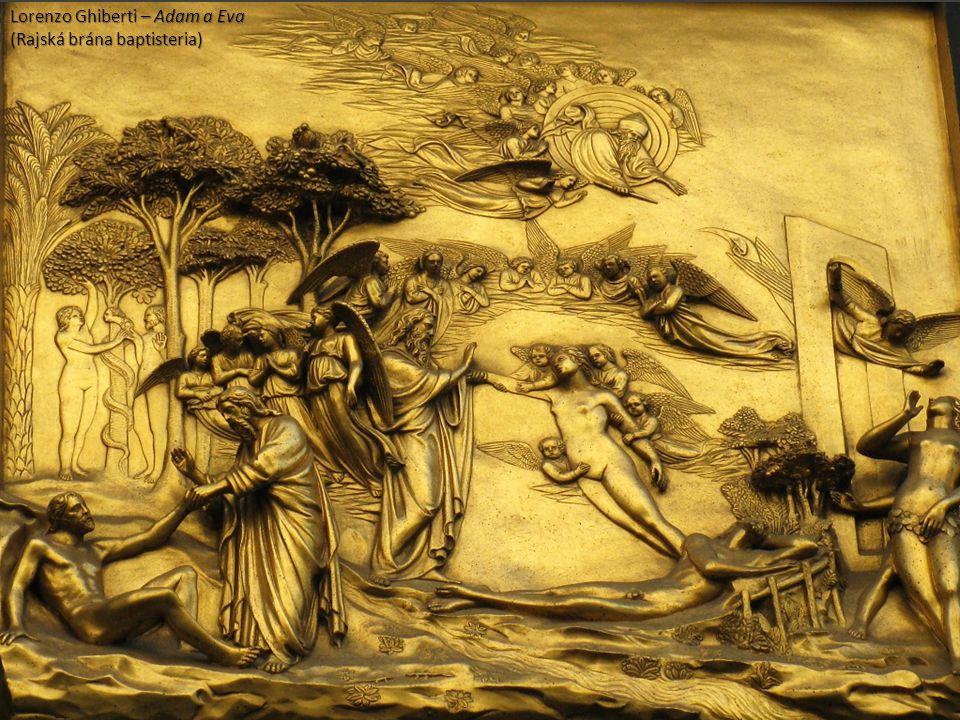 Lorenzo Ghiberti – Adam a Eva