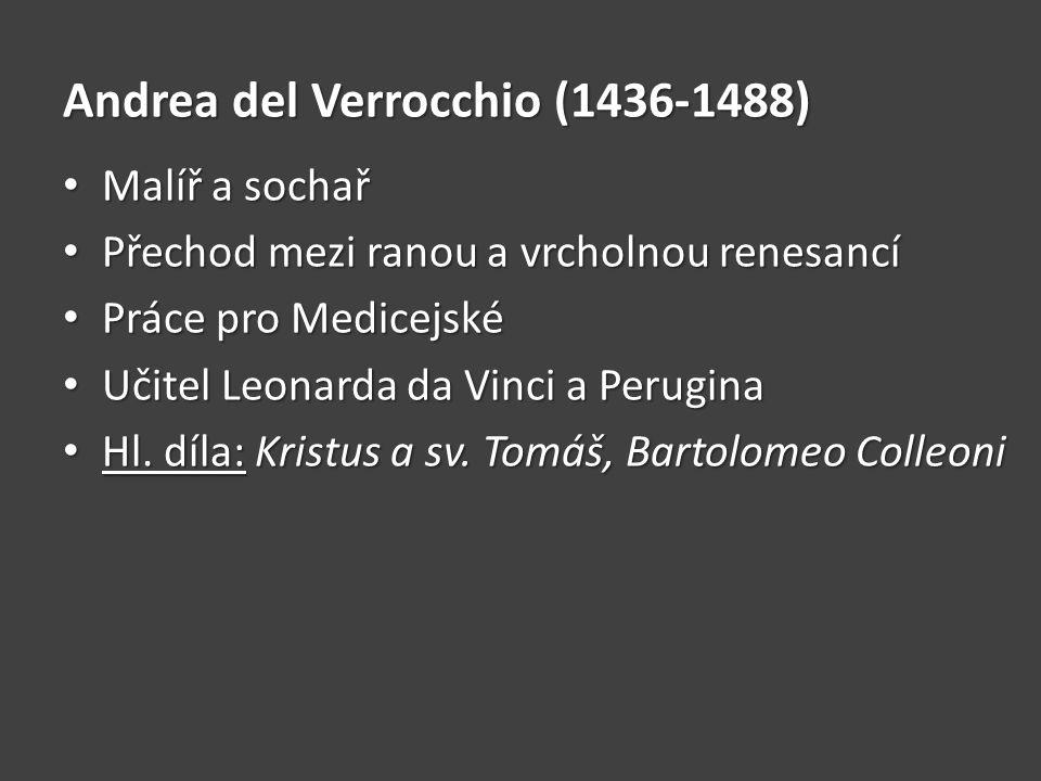 Andrea del Verrocchio (1436-1488)